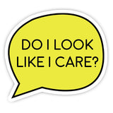 Do I look like I Care? sticker-Minis-sticktop-[Laptop sticker Egypt]-[Laptop sticker in Egypt]-sticktop