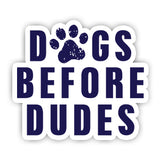 Dogs before dudes Sticker-Minis-sticktop-[Laptop sticker Egypt]-[Laptop sticker in Egypt]-sticktop