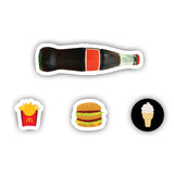 Fast Food Webcam shutter stickers-Cam shuts-]-Best laptop stickers in Egypt.-sticktop