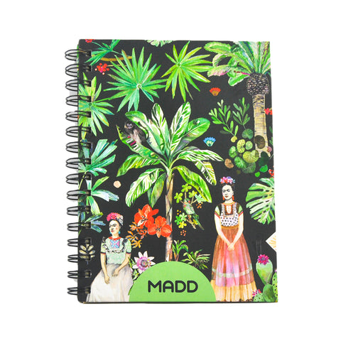 Hardcover Viva La Frida A5 Notebook