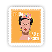 Frida Stamp Sticker-Minis-MADD-[Laptop sticker Egypt]-[Laptop sticker in Egypt]-MADD
