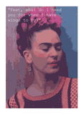 Frida's Wings Poster