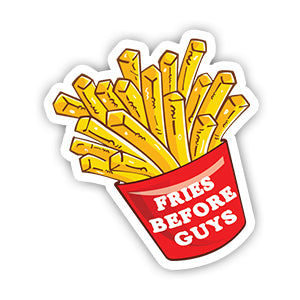 Fries before guys sticker-Minis-sticktop-[Laptop sticker Egypt]-[Laptop sticker in Egypt]-sticktop