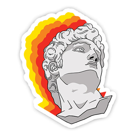 Greek bust sticker-Minis-sticktop-[Laptop sticker Egypt]-[Laptop sticker in Egypt]-sticktop