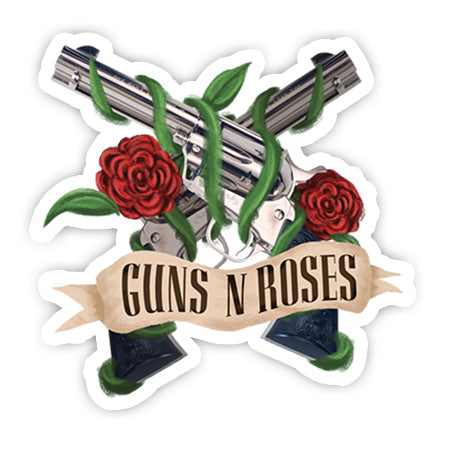 Guns N Roses sticker-Minis-sticktop-[Laptop sticker Egypt]-[Laptop sticker in Egypt]-sticktop