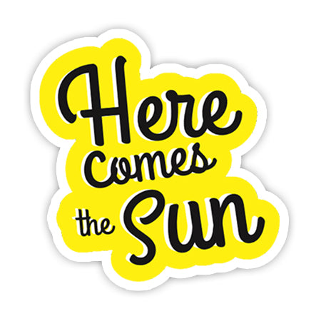 Here comes the sun sticker-Minis-MADD-[Laptop sticker Egypt]-[Laptop sticker in Egypt]-sticktop
