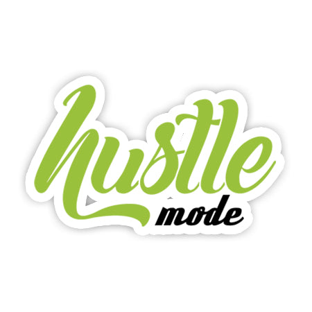 Hustle Mode sticker-Minis-sticktop-[Laptop sticker Egypt]-[Laptop sticker in Egypt]-sticktop