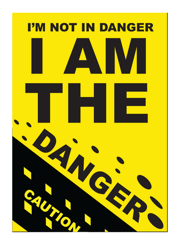 I Am The Danger Pop Poster