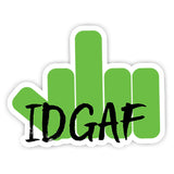 IDGAF sticker-Minis-sticktop-[Laptop sticker Egypt]-[Laptop sticker in Egypt]-sticktop