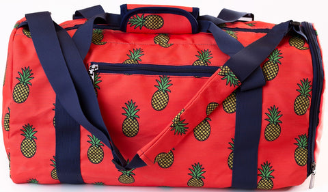 Pineapple Frenzy Duffle Bag