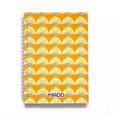 Lemon Zing Paperback Notebook