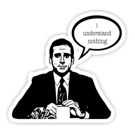 I understand nothing sticker-Minis-sticktop-[Laptop sticker Egypt]-[Laptop sticker in Egypt]-sticktop