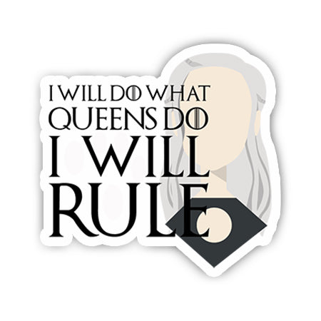 I will do what queens do sticker-Minis-sticktop-[Laptop sticker Egypt]-[Laptop sticker in Egypt]-sticktop