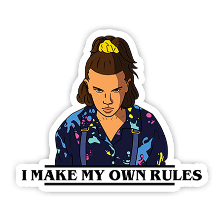 I make my own rules sticker-minis-sticktop-[Laptop sticker Egypt]-[Laptop sticker in Egypt]-sticktop