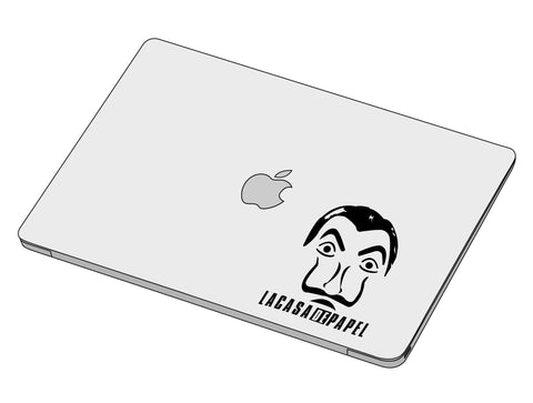 La Casa De Papel Mask Sticker-Decal-]-Best laptop stickers in Egypt.-sticktop