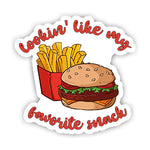 Burger and Fries Sticker-Minis-sticktop-[Laptop sticker Egypt]-[Laptop sticker in Egypt]-sticktop