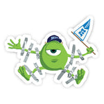 Mike Wazowski sticker-Minis-sticktop-[Laptop sticker Egypt]-[Laptop sticker in Egypt]-sticktop