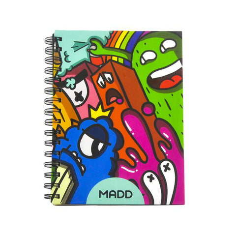 Hardcover Monsters A5 Notebook