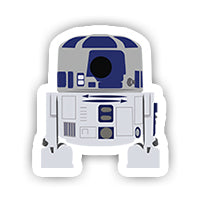 Star Wars R2D2 Sticker-Minis-sticktop-[Laptop sticker Egypt]-[Laptop sticker in Egypt]-sticktop