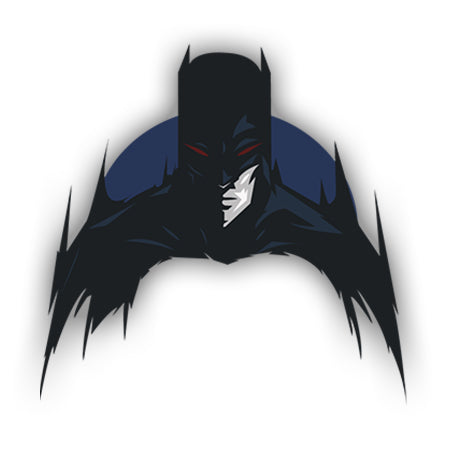 Batman Apple logo sticker-Minis-MADD-[Laptop sticker Egypt]-[Laptop sticker in Egypt]-sticktop