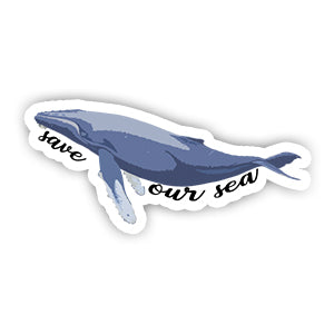 Save our Sea Sticker-Minis-sticktop-[Laptop sticker Egypt]-[Laptop sticker in Egypt]-sticktop