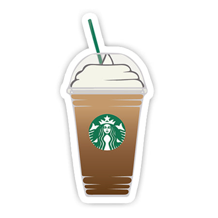 Starbucks Frappuccino sticker-Minis-sticktop-[Laptop sticker Egypt]-[Laptop sticker in Egypt]-sticktop