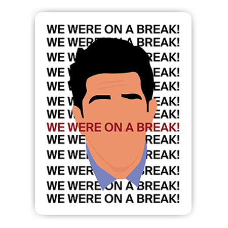 We were on a break! sticker-Minis-sticktop-[Laptop sticker Egypt]-[Laptop sticker in Egypt]-sticktop
