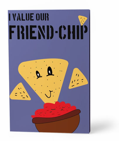 Friend Chip Greeting Card
