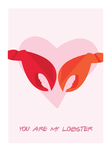 You're My Lobster Poster