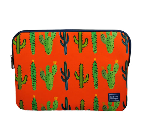 Cactus Craze Laptop Sleeve-Laptop Sleeve-[Laptop sleeves in Egypt]-sticktop