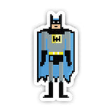 Pixel Batman Sticker-Minis-sticktop-[Laptop sticker Egypt]-[Laptop sticker in Egypt]-sticktop