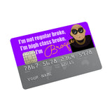 Broque Credit card Sticker