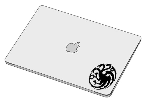 House Targaryen sticker-decal-]-Best laptop stickers in Egypt.-sticktop