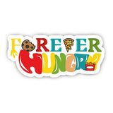 Forever hungry sticker-Minis-sticktop-[Laptop sticker Egypt]-[Laptop sticker in Egypt]-sticktop