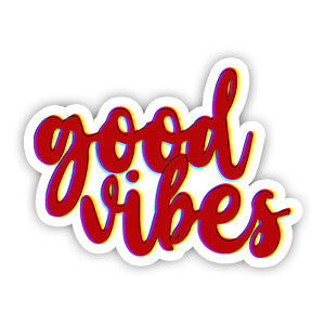 Good vibes Sticker-Minis-MADD-[Laptop sticker Egypt]-[Laptop sticker in Egypt]-sticktop