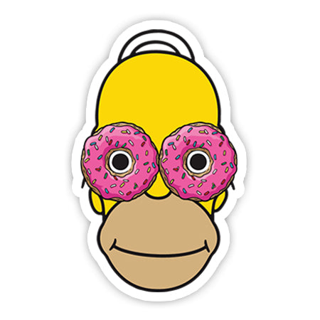 Homer Simpsons sticker-Minis-sticktop-[Laptop sticker Egypt]-[Laptop sticker in Egypt]-sticktop