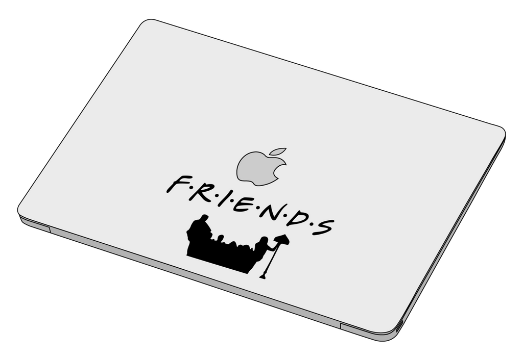 Friends Couch Sticker