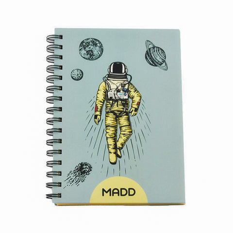 Hardcover Cosmic Adventure A5 Notebook