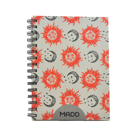 Sun and Moon  A5 Notebook