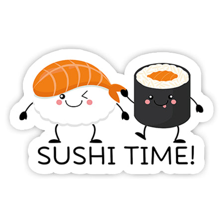 Sushi time sticker-Minis-MADD-[Laptop sticker Egypt]-[Laptop sticker in Egypt]-sticktop
