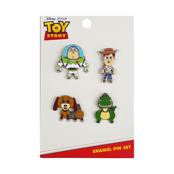 Toy Story 4 Pcs Pin Set