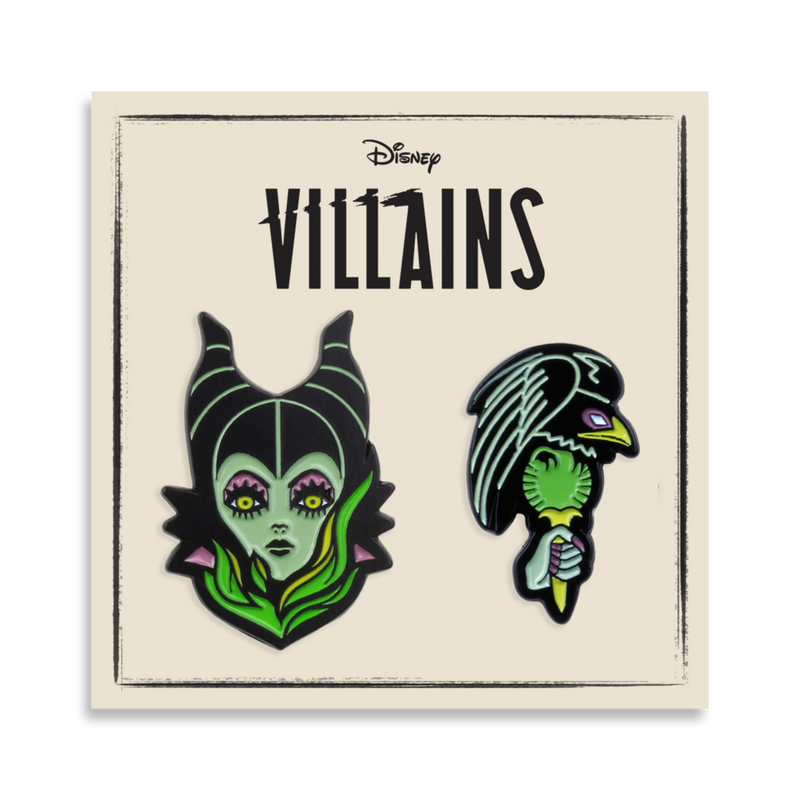 Sleeping Beauty – Maleficent 2-Pin Set