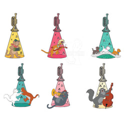Aristocats Trumpet Blind Box Disney Pins