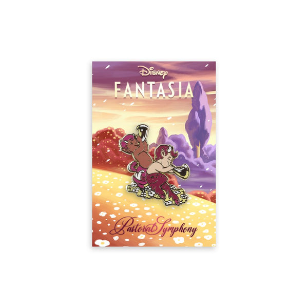 Fantasia – The Fauns Enamel Pin