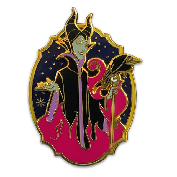 Mistress of Evil Pin - Maleficent Crest