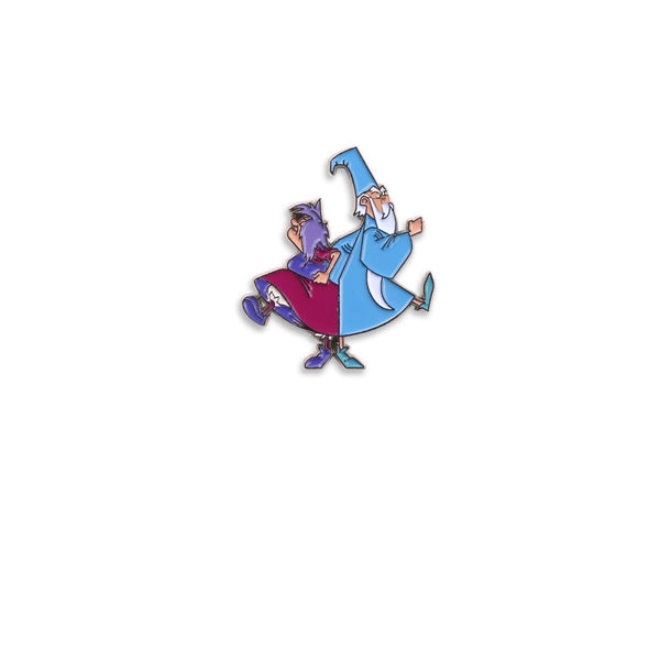 Madam Mim vs. Merlin Enamel Pin