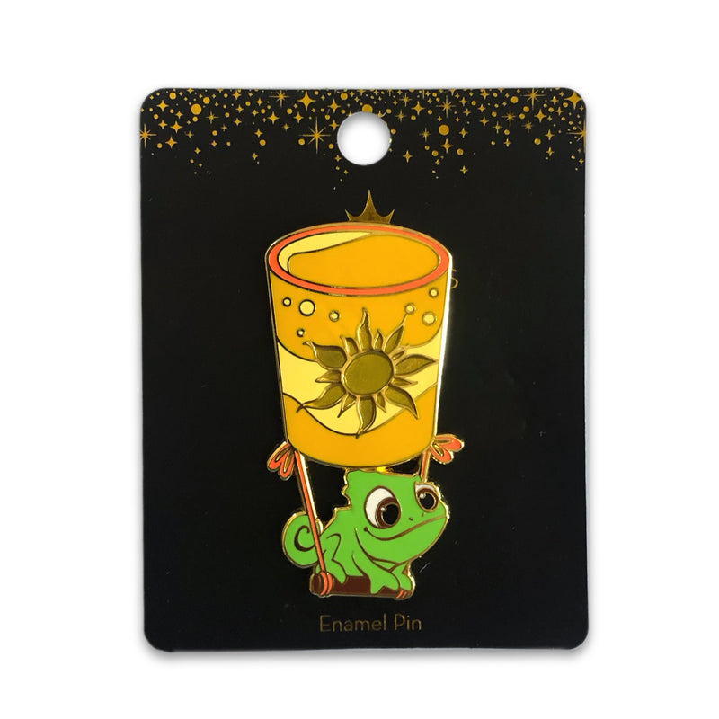 Pascal's Floating Lantern Pin - Limited Edition of 600