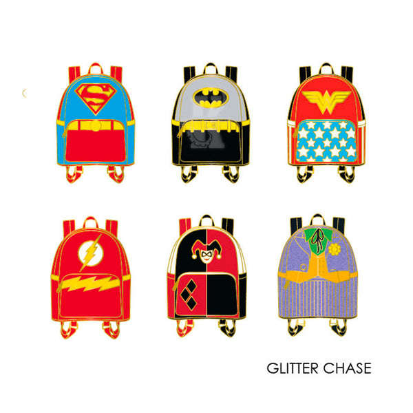 DC Comics Mini Backpack Blind Box Pins