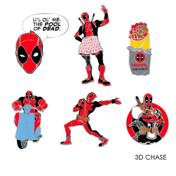 Deadpool Blind Box Marvel Pins