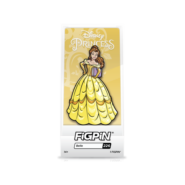 Belle Yellow Dress Pin (#226)